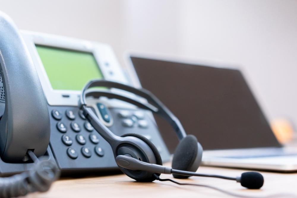 Telefone de URA para atendimento